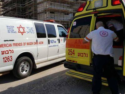 עפולה: פועל בן 51 נפל באתר בנייה