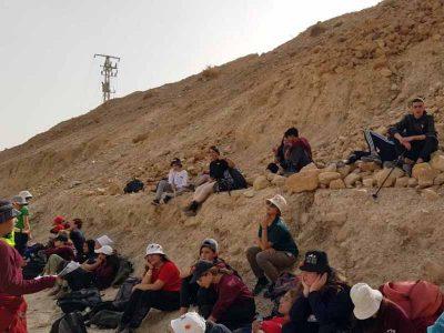 ויצו ניר העמק: מדריכי השלח כבשו את המדבר