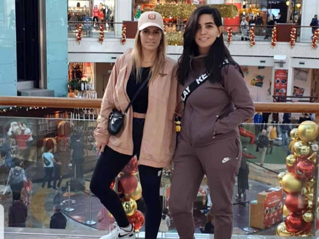 שופינג טורקי: מלי ודנה בקניון
