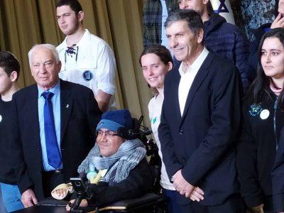 """מגידו: גאווה! רז רוטמן קיבל מנשיא המדינה את אות """"פורץ דרך"""""""