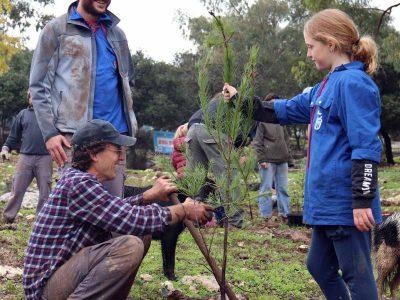 בסימן נטיעות עצים והוקרת החקלאים: בחטיבת בני המושבים ציינו 60 שנה לתנועה