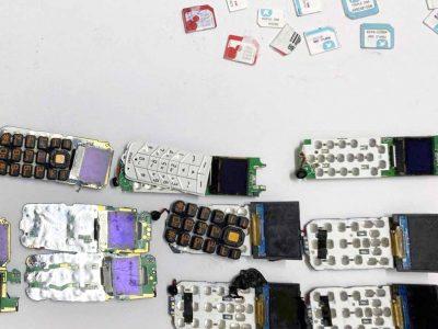 """אין קליטה: פעיל פת""""ח ניסה להבריח בגופו עשרות טלפונים סלולריים לכלא מגידו"""