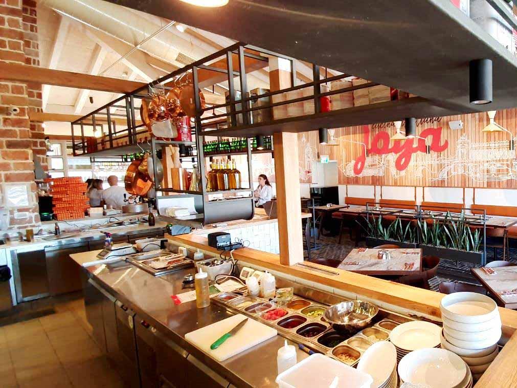 מסעדת גויה ראש פינה החדשה צילום: ג'ויה