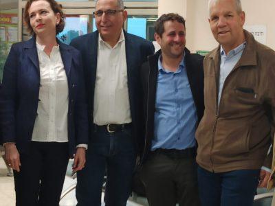 שדה התעופה בעמק: רשויות מהאזור במשלחת לקפריסין לקידום טיסות לחיפה