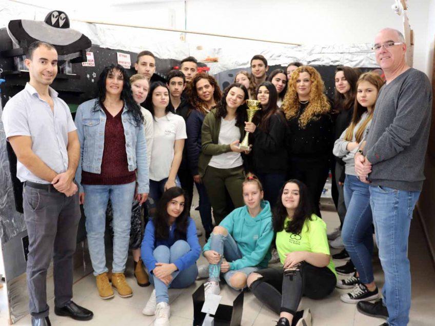 """חמסה: שני בתי ספר ממגדל העמק זכו שוב בתחרות """"המכונה המופלאה"""""""