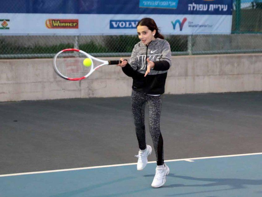 לראשונה בהיסטוריה: עפולה תארח טורניר טניס בינלאומי