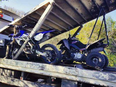 מגידו: בני 11 נתפסו נוהגים על טרקטורון