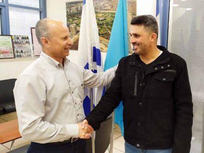 עפולה: חבר המועצה מטעם סיעת הליכוד מוטי אלוש הצטרף לקואליציה