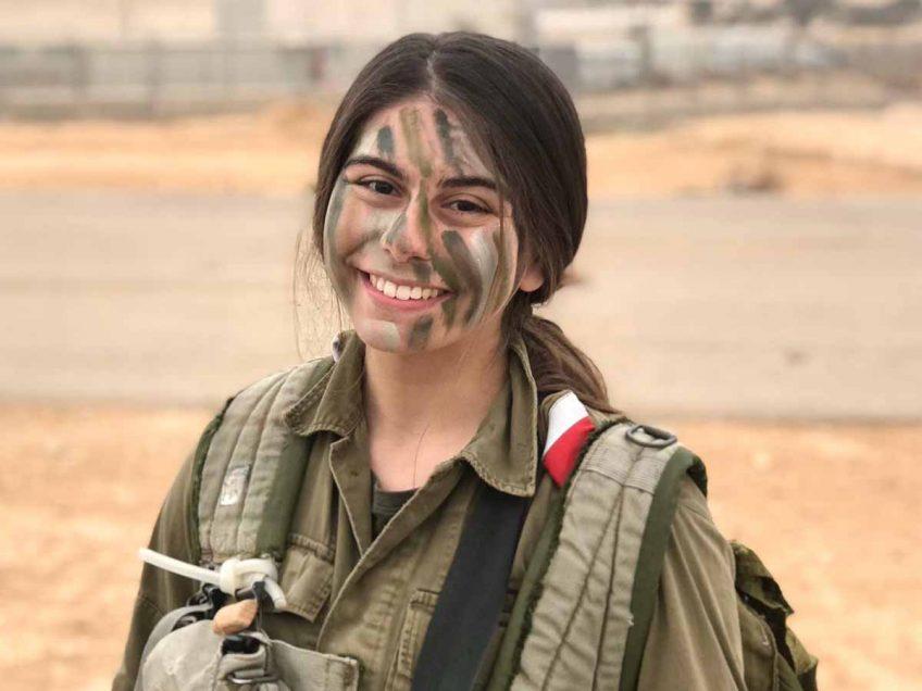 תעודת הצטיינות לחיילת מעמק יזרעאל: סייעה בלידה אזרחית