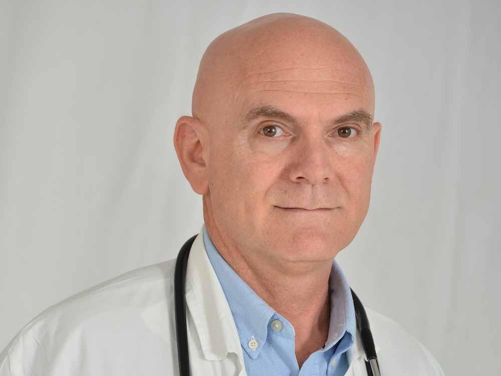"""ד""""א גיא דורי. צילום: דוברות מרכז רפואי העמק"""