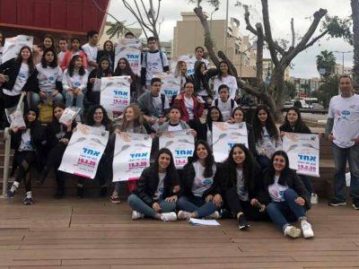 """מרשים: 30 עסקים לקחו חלק במיזם """"יום ללא רעב"""" שמוביל ויצו ניר העמק"""
