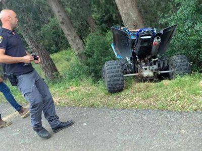 תאונה ביער בית קשת: צעיר נפצע באורח קשה