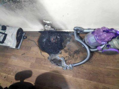 בגלל שואב אבק רובוטי: שריפה בדירה במגדל העמק