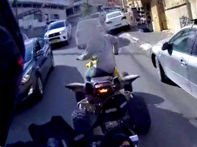 """חזרה ל""""שגרה"""": במרדף משטרתי נתפסו נהגים צעירים ללא רישיון נהיגה"""