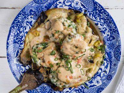 מנת שף לשבת: השף אבי ביטון מגיש לכם מתכון לסינייה קבב דגים וטחינה