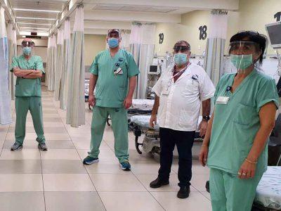 """מחמם את הלב: """"כתר"""" תרמה מסכות רפואית למרכז רפואי העמק בעפולה"""