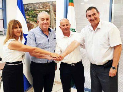 עפולה: חיזוק לקואליציה של אלקבץ- גוש ישראל ביתנו מצטרף