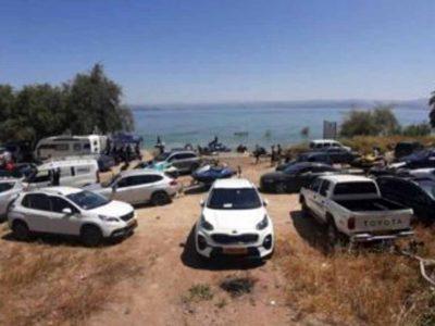כינרת: מאות רבות של משפחות פונו מחופי הכינרת