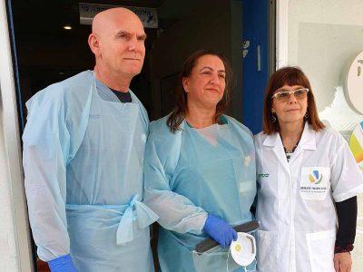 """קורונה: שלושת החולים האחרונים ב""""העמק"""" שוחררו"""
