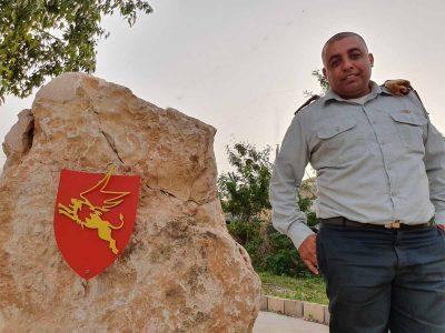 """""""אני שמח שנתנו לי את הזכות להגן על המדינה ותושביה"""""""