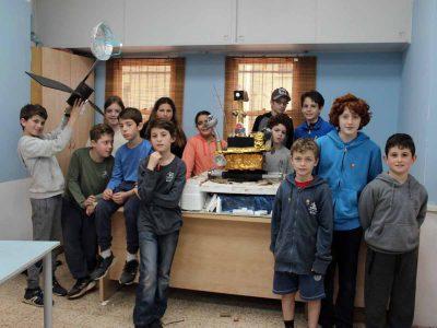 """מגידו: תלמידי מצוינות מביה""""ס """"פלגים"""" העפילו לגמר בתחרות החלל הארצית"""
