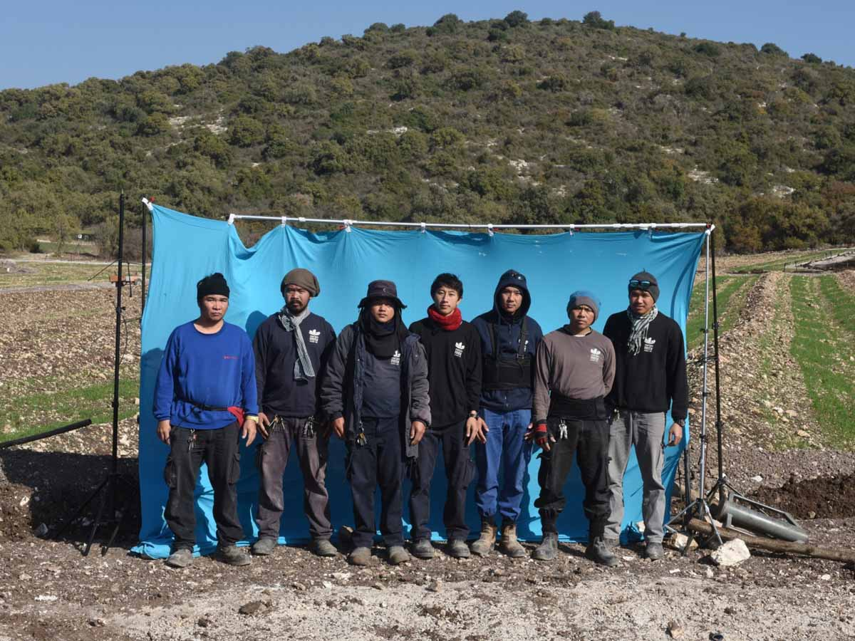 חקלאים בעמק 2020. צלם בועז לניר