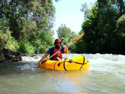 טיול אקסטרים בשבת: שייט קייקים חווייתי סוער בירדן ההררי