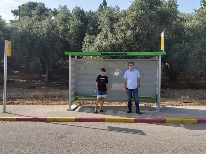 עמק יזרעאל: 32 תחנות אוטובוס חדשות הוצבו ברחבי המועצה