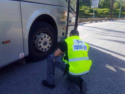 יקנעם: הולכת רגל נהרגה מפגיעת אוטובוס
