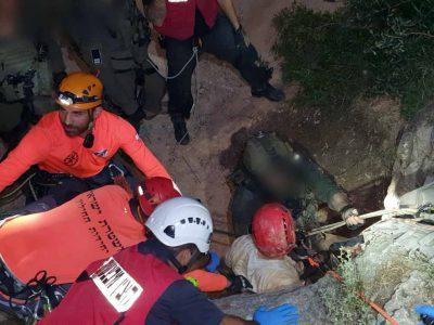 איכסל: חילוץ דרמתי הלילה של 3 לכודים ממערה