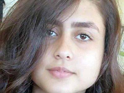 נוף הגליל: סיוע באיתור נאדיה מסארוה בת ה- 16