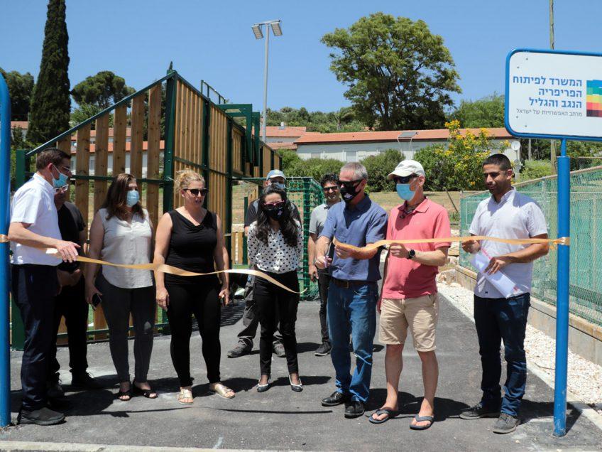 עין חרוד איחוד: מגרש ספורט משולב חדש לטובת פעילות קהילתית