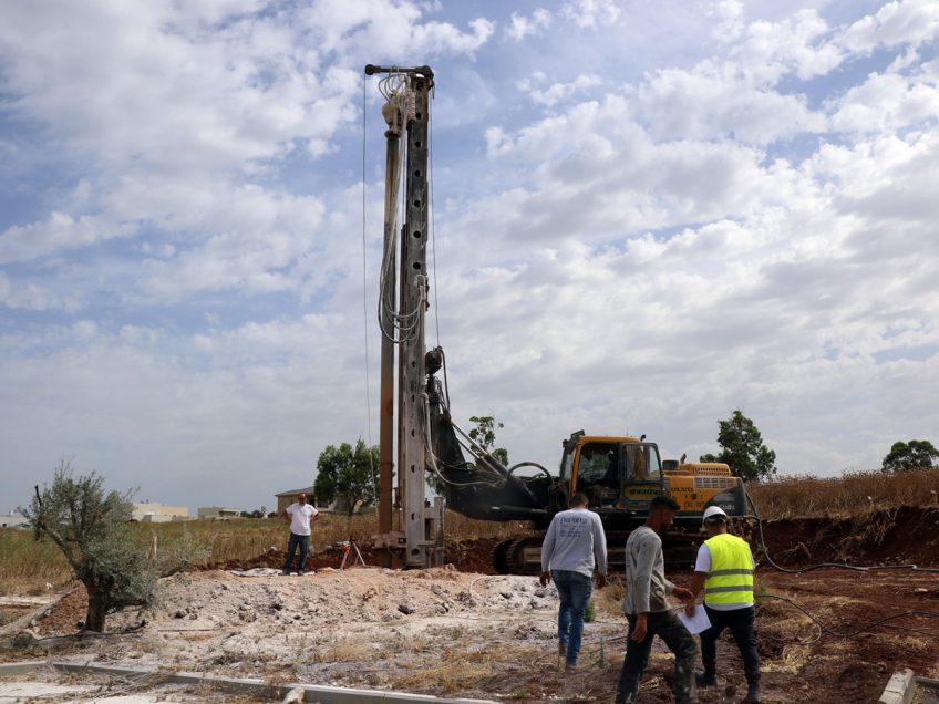 גלבוע: החלו העבודות למבנה ציבור עבור הקהילה בנורית