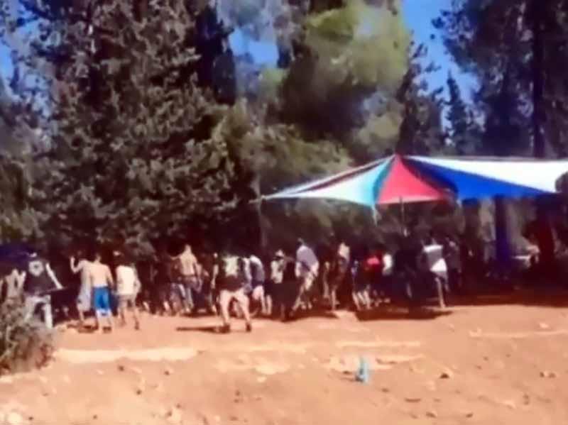 ללא מסכות ועם המון אלכוהול: המשטרה הפסיקה מסיבת טבע סמוך לאלונים בעמק יזרעאל