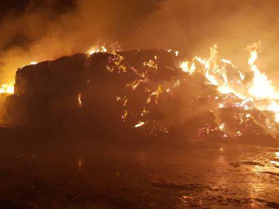 גלבוע: המתבן של קיבוץ בית אלפא עלה באש