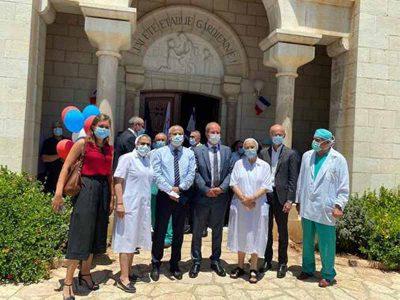 נצרת: לרגל יום הבסטיליה- שגריר צרפת בבית החולים הצרפתי