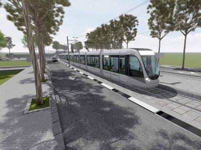 הרכבת הקלה חיפה- נצרת לקראת תחילת ביצוע