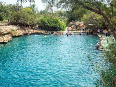 עתיקות והרבה הרבה מים: קיץ 2020 בגן הלאומי גן השלושה