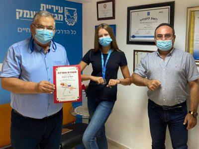 אתלטיקה- אליפות ישראל: תלמידה בת 16 ממגדל העמק, זכתה במקום השני