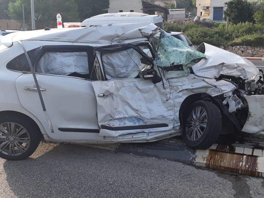 תאונת דרכים קשה בעפולה: בן 55 מורדם ומונשם