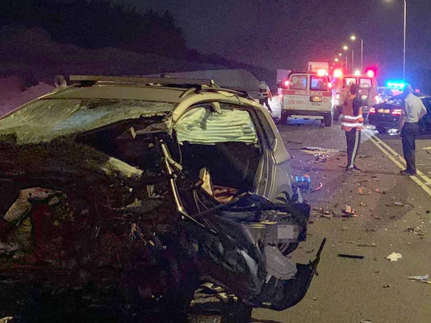 כביש 79: הרוג ופצועים בתאונה קטלנית הלילה בסמוך לציפורי
