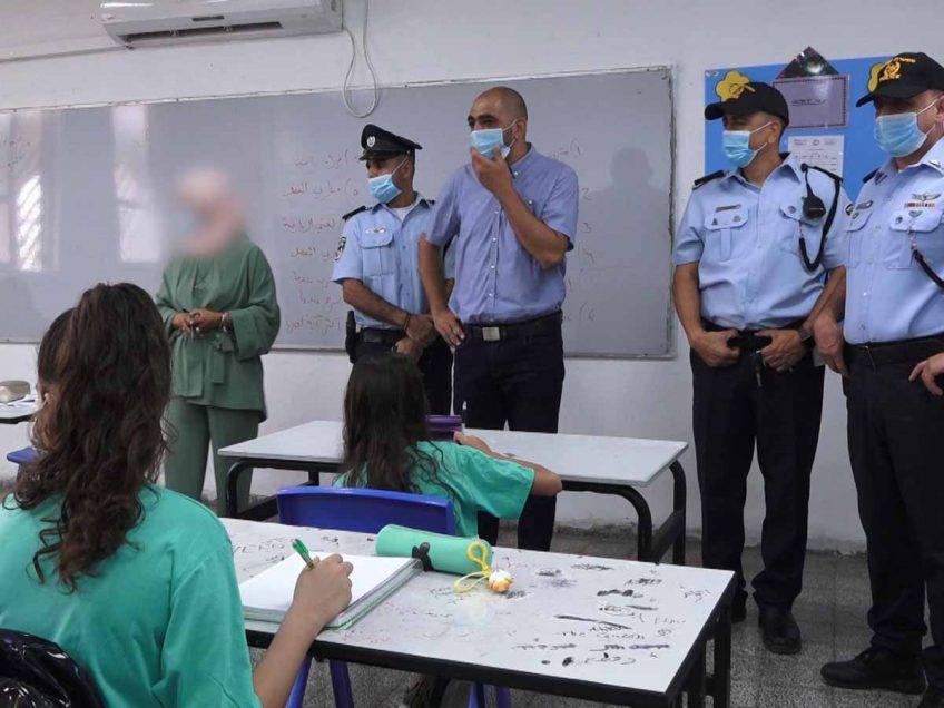 """פתיחת שנת הלימודים תשפ""""א: כ- 1000 שוטרים התפרשו במוסדות החינוך ושמרו על הסדר"""