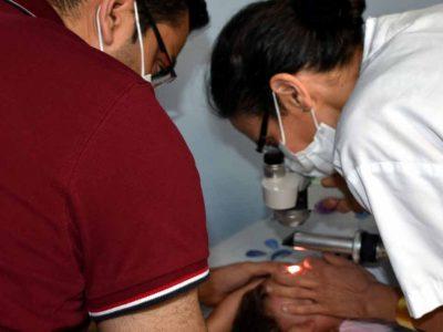 חומר חיטוי ידיים גרם לפעוט לכוויה קשה בעין