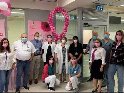 חודש המודעות לסרטן השד:  מיזם מיוחד של המרכז הרפואי העמק ועיריית עפולה