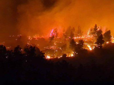 השריפה בנוף הגליל: נמשך המאמץ המערכתי לכיבוי מוקדי בעירה
