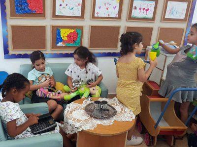 עפולה: ילדי הגנים שבו למסגרות