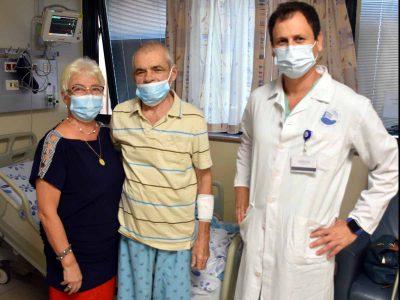 ניתוח מורכב ומסוכן לכריתת הריאה בפוריה