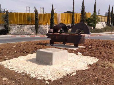 פיסול חוצות בעמק: גן הפסלים בפארק התעשייה אלון תבור התחדש בפסלים