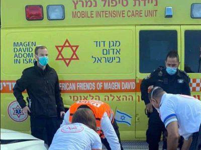 עפולה: בן 60 נפגע מרכב בשדרות יצחק רבין