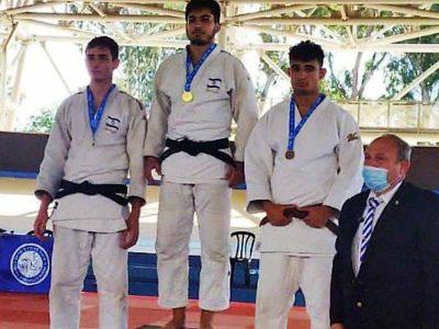 עפולה: אופק וייסמן זכה בתואר סגן אלוף ישראל בג'ודו